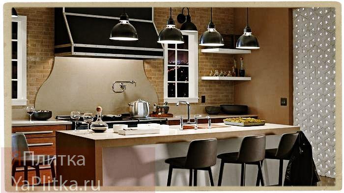отделочные материалы для внутренних стен кухни