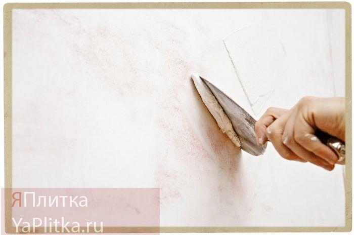Подготовка поверхности к укладке мозаичной плитки