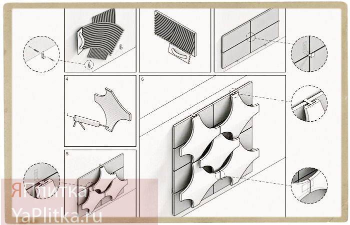 современные отделочные материалы в интерьере