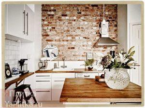 оформление кухонного фартука плиткой фото