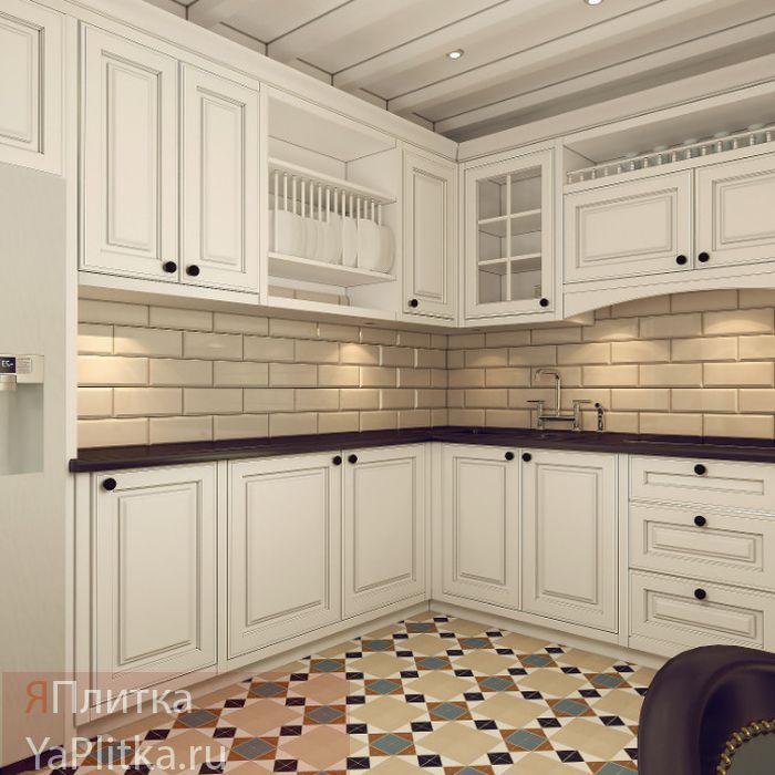 плитка для ванной в стиле прованс