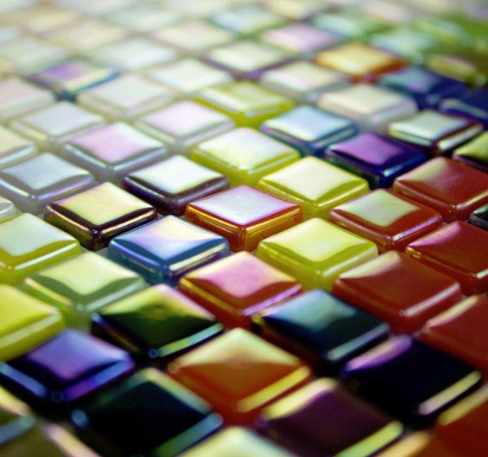 мозаика на сетке