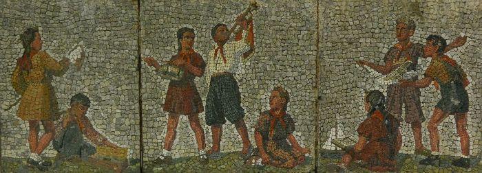 история возникновения мозаики