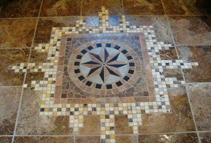 мозаика плитка для пола