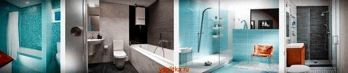керамическая плитка для ванной интерьер