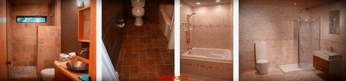 подобрать керамическую плитку для ванной