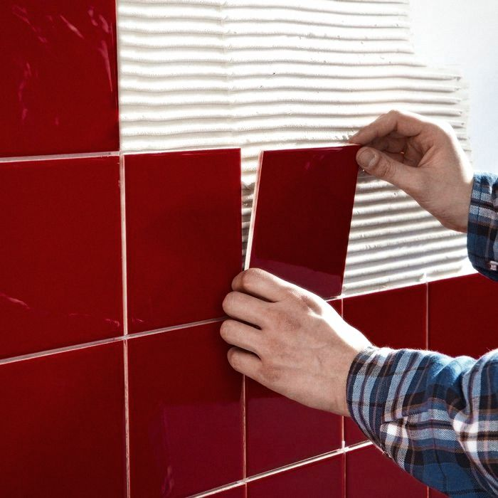 клей для настенной керамической плитки