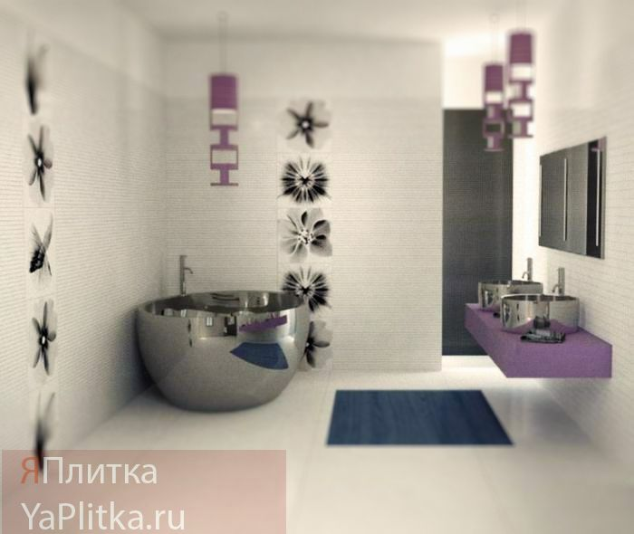 панно плитка для ванной комнаты