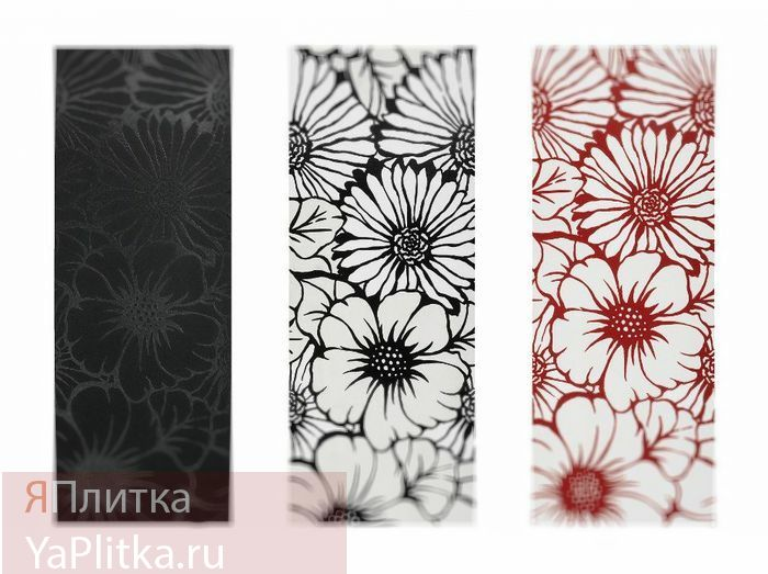 керамическая плитка городские цветы