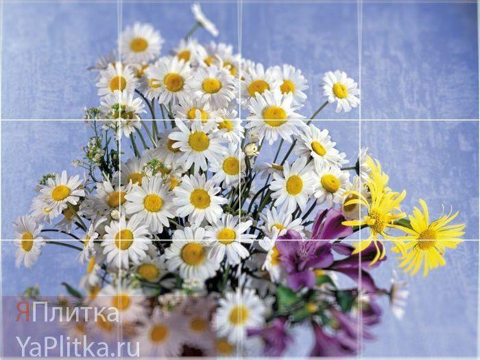 керамическая плитка цветы