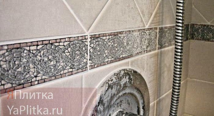 как почистить кафель в ванной от налета