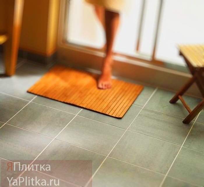 керамическая плитка как сделать нескользкой