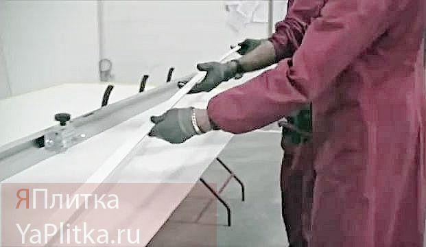 укладка плитки больших размеров