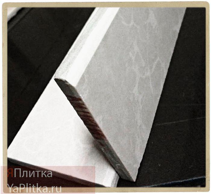 изготовление плинтусов из керамогранита