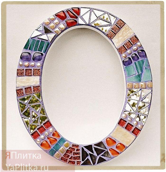 дизайн ванны с мозаичной плиткой