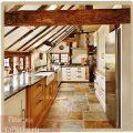 плитка в стиле кантри на кухне