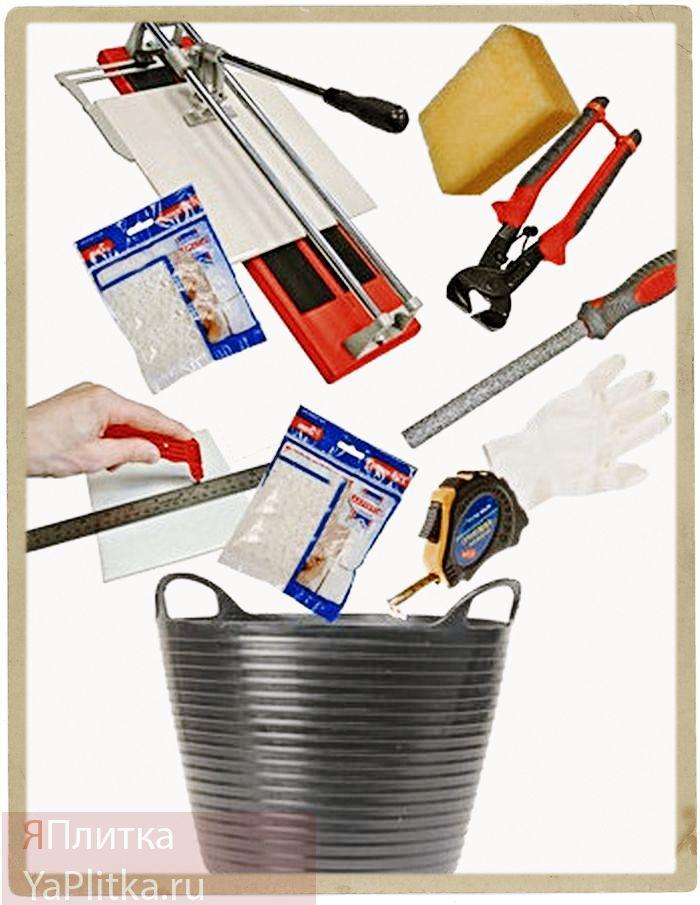 какой инструмент нужен для укладки плитки
