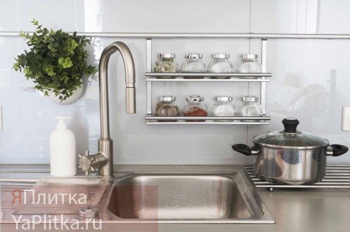 высота фартука на кухне стандарт