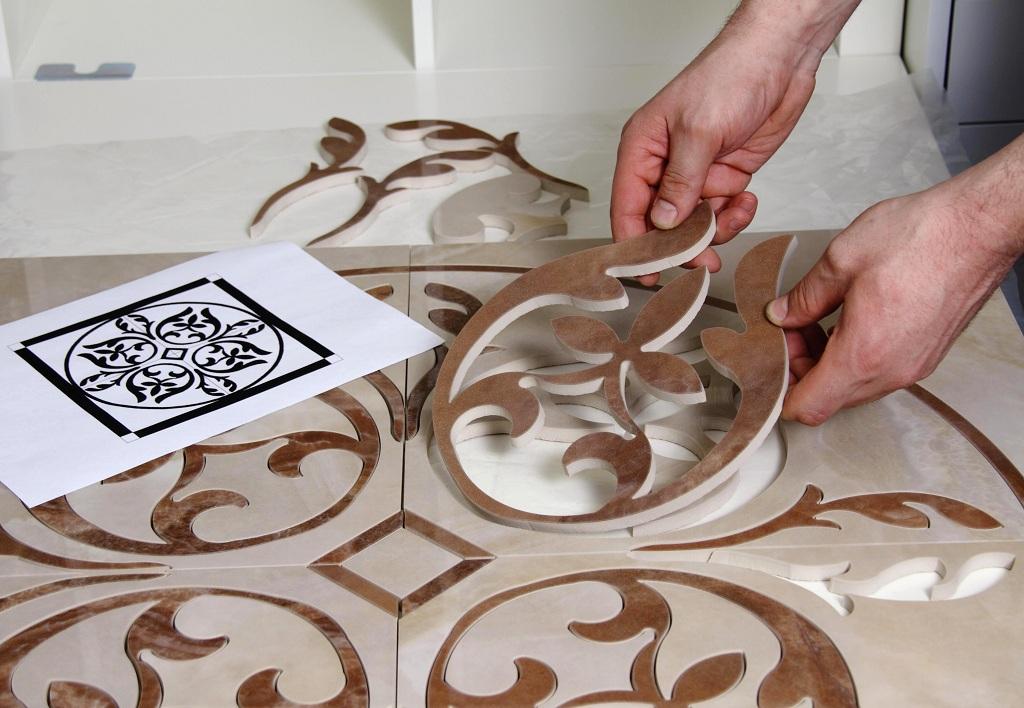 фигурная резка плитки керамической