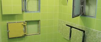 Способы маскировки труб под плитку в ванной комнате