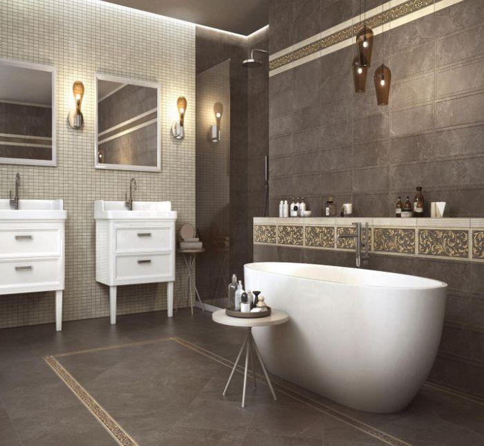 декор плитка для ванной
