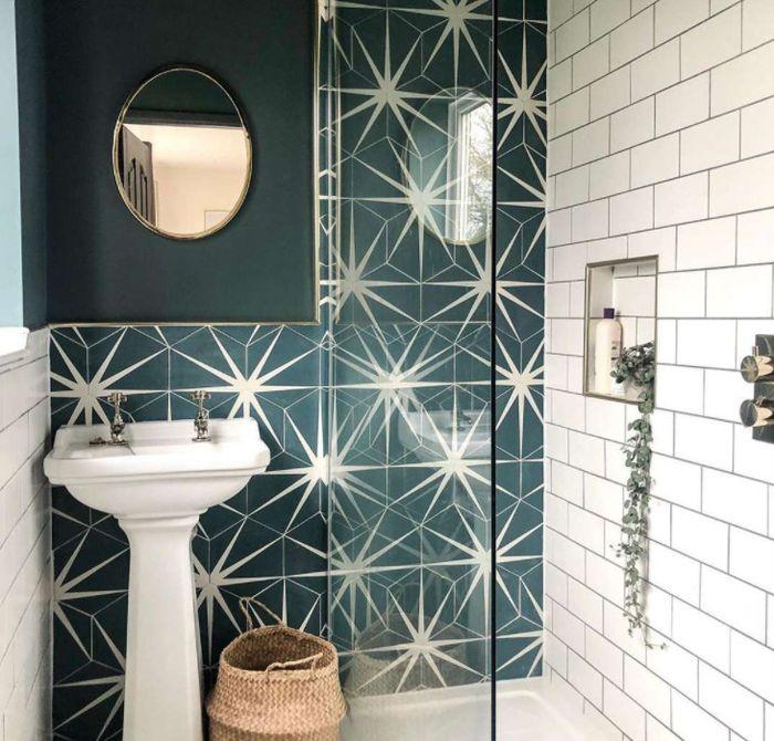 дизайн плитка для ванной