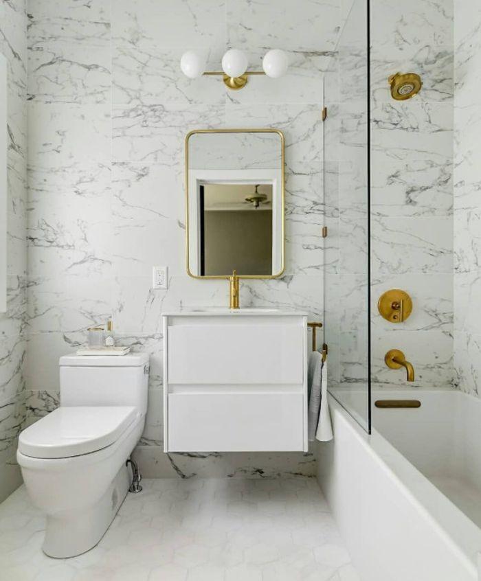 дизайн в ванной плитка