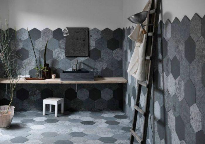 плитка в ванную комнату дизайн