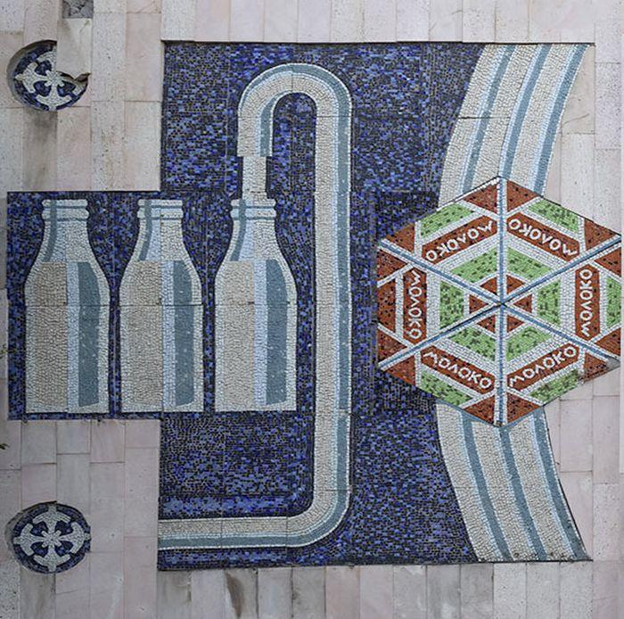 мозаики на фасадах храмов