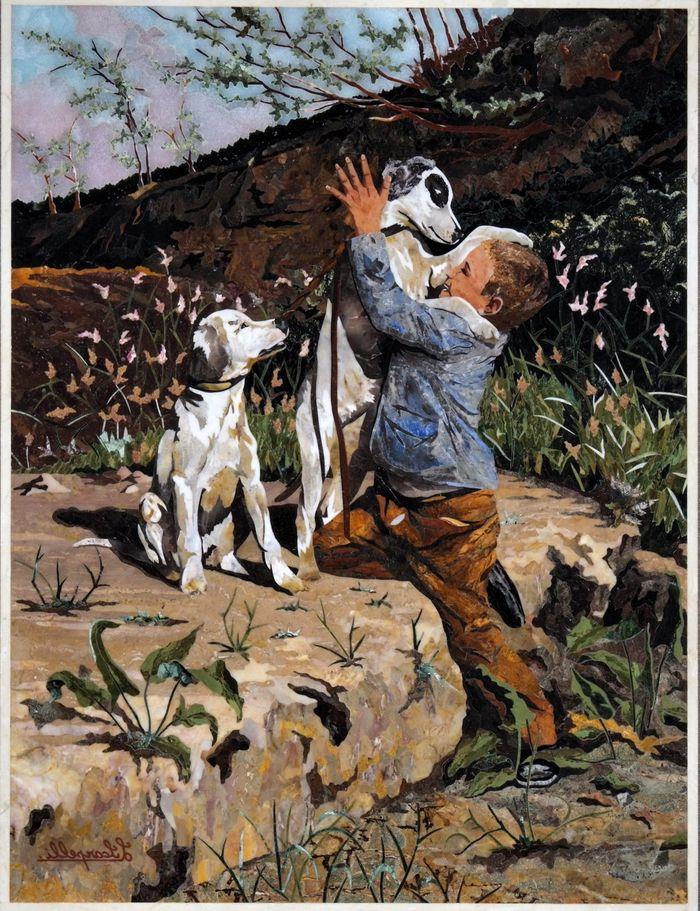 florentiyskaya mozaika foto