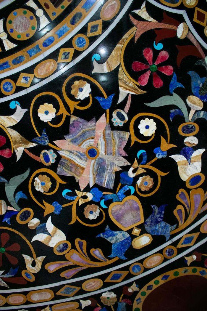 флорентийская мозаика из камня