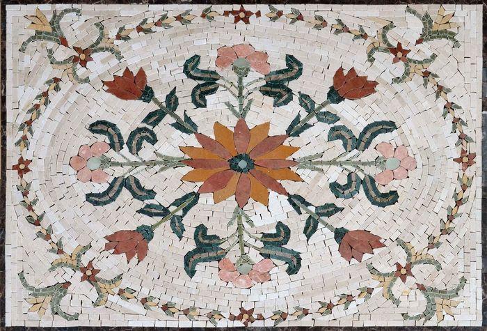 флорентийская мозаика техника