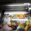 Печать на керамической плитке, способы и варианты
